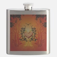 Awesome hearts Flask