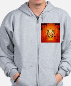 Awesome hearts Zip Hoodie