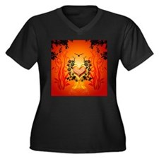 Awesome hearts Plus Size T-Shirt