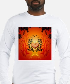 Awesome hearts Long Sleeve T-Shirt