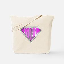 SuperGirl(Pink) Tote Bag