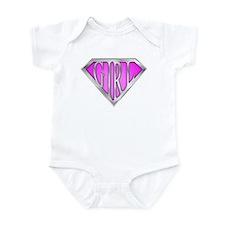 SuperGirl(Pink) Infant Bodysuit