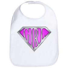 SuperGirl(Pink) Bib