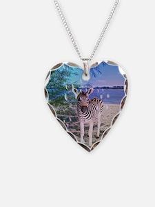 Cute Zebra baby Necklace
