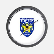 Missouri Flip Cup State Champ Wall Clock