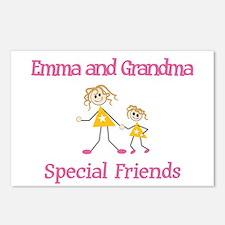 Emma & Grandma - Friends Postcards (Package of 8)