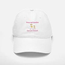 Emma & Grandma - Friends Baseball Baseball Cap