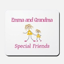 Emma & Grandma - Friends Mousepad