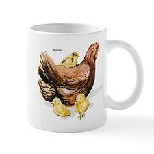 Hen and Chicks Mug