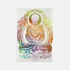 Funny Buddhist Rectangle Magnet