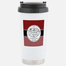 Personalized Monkey Cou Stainless Steel Travel Mug