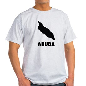 Aruba Silhouette T-Shirt