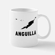 Anguilla Silhouette Mugs