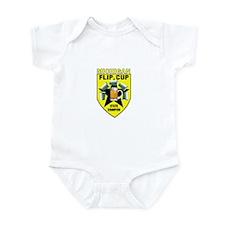 Michigan Flip Cup State Champ Infant Bodysuit