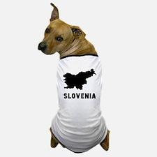 Slovenia Silhouette Dog T-Shirt