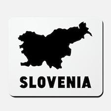 Slovenia Silhouette Mousepad
