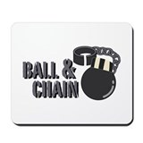 Ball and chain Mouse Pads