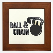 Ball & Chain Framed Tile