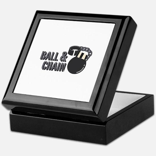 Ball & Chain Keepsake Box