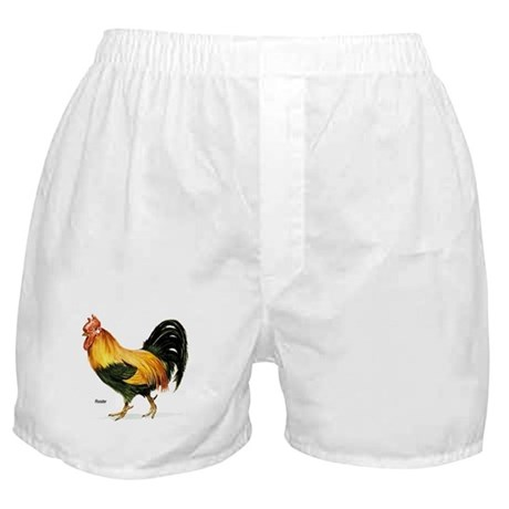 Rooster Chicken Boxer Shorts