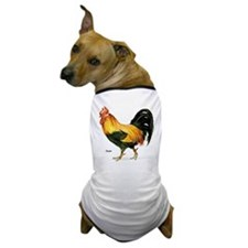 Rooster Chicken Dog T-Shirt