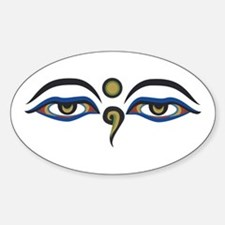 Eyes Of Buddha Decal