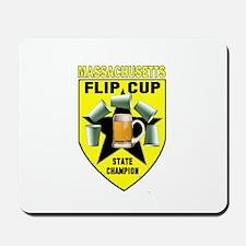 Massachusetts Flip Cup State Mousepad