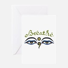 Breathe Greeting Cards
