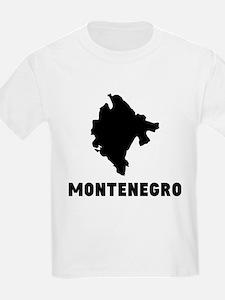 Montenegro Silhouette T-Shirt