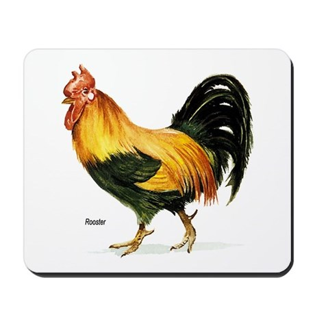 Rooster Chicken Mousepad