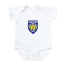 Massachusetts Flip Cup State Infant Bodysuit