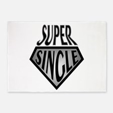 Super Hero Super Single 5'x7'Area Rug