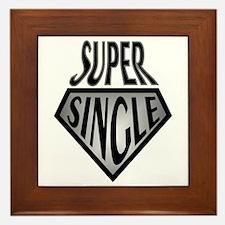 Super Hero Super Single Framed Tile