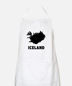 Iceland Silhouette Apron