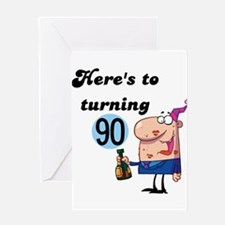 Funny 90th birthday Greeting Card