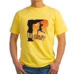 Rock Climbing Yellow T-Shirt