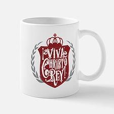 Viva Cristo Rey Shield Mugs