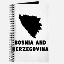 Bosnia and Herzegovina Silhouette Journal