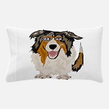 Funny Australian Shepherd Dog Pillow Case