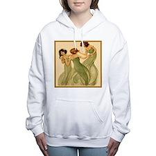 Cute Deco pins Women's Hooded Sweatshirt