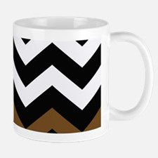 With a Brown Border Mugs