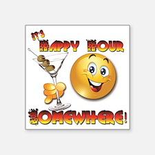 Happy Hour-Design 1B Sticker