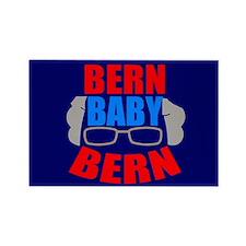 Bern Baby Bernie Sanders Rectangle Magnet