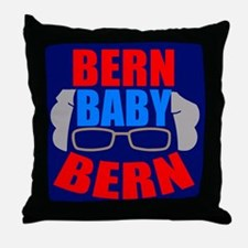 Bern Baby Bernie Sanders Throw Pillow