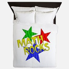 Math Rocks Queen Duvet