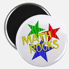 "Math Rocks 2.25"" Magnet (10 pack)"