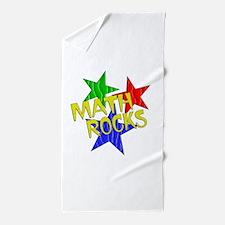 Math Rocks Beach Towel