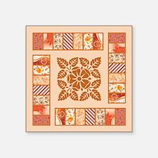 "ELEGANT TILE Square Sticker 3"" x 3"""