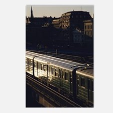 Unique Subway Postcards (Package of 8)