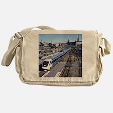 Cute Transportation Messenger Bag